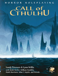 Call of Cthulhu Logo Graphic