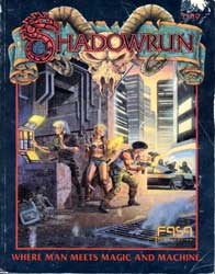Shadowrun (1st Edition) Logo Graphic